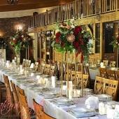młyn nad Starą Regą - dekoracje weselne