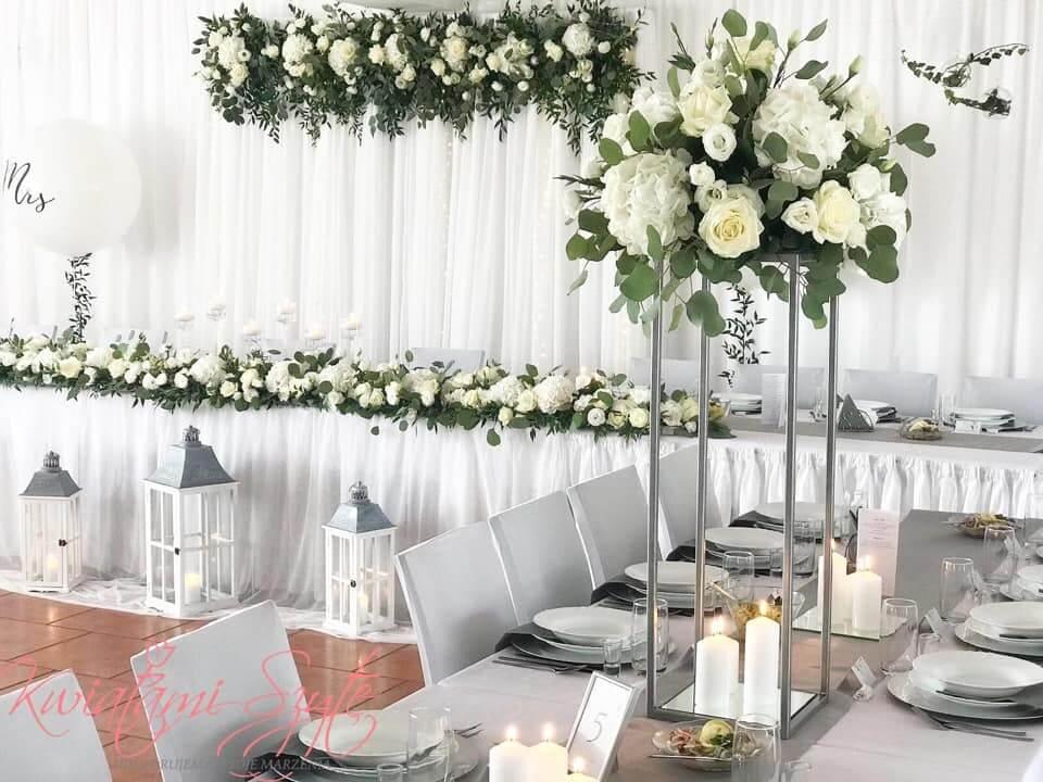 wesele w bieli